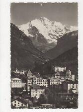 Interlaken & Die Jungfrau Switzerland 1930 Rp Postcard 388a