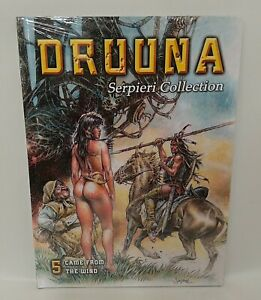 Druuna Vol 5 Hardcover Came From The Wind Serpieri HC Collection English
