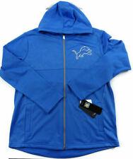 NFL Men Detroit Lions Full Zip Hoodie Large Proline Fanatics Football $75
