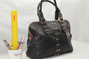 FAUX LEATHER - NEW - Jane Shilton Designer Handbag - BLACK - reduced