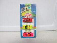 Speed Way 500 3 Car Pack w/Neon Yellow Car