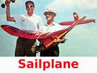 """Model Airplane Plans (FF): Vintage 1940 Comet Sailplane 78"""" (Plans & Patterns)"""