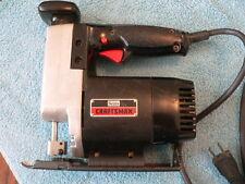 Vintage Sears Craftsman Auto Scroller Saw Model No 315.17251 Variable Speed Jig