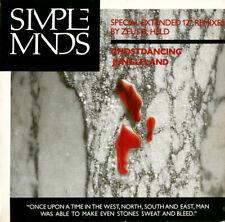 Simple Minds – Ghostdancing / Jungleland - UK 1986 CD Single