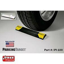 Garage Parking Aid Curb Wheel Stopper Driveway Rubber Park Guide Block Stop Car