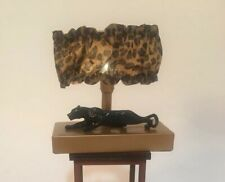 Gene's Swan Bedroom Suite Panther Lamp. IT WORKS! comes with 2 new extra bulbs!