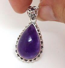 Not Enhanced Amethyst Fine Gemstone Necklaces & Pendants