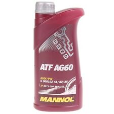 1 Liter Mannol ATF AG 60 Automatik Getriebeöl AUDI/VW G 060162 A1/A2/A6