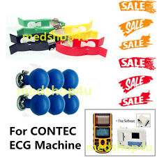 Adult Limb and  Chest Suction electrodes For CONTEC ECG machine ECG300G/80A/600G