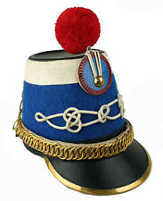 Husaren Tschako Frankreich Shako Napoleon Waterloo Empire Reenactment sca L155