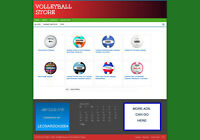 VOLLEYBALL WEBSITE & AFFILIATE STORE + BLOGS - NEW FREE DOMAIN & HOSTING