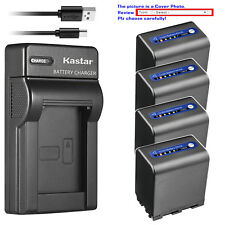 Kastar Battery Slim USB Charger for Sony NP-QM91D & Cyber-shot DSC-F828 DSC-R1