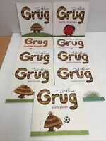 Grug Books by Ted Prior x9 - Grug Learns To Fly First Christmas Bicycle Hospital