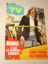 TV SORRISI CANZONI=1975/15=MINA=PATTY PRAVO=BRUNO VAILATI=DINO SARTI=PANFILI S.