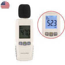 30-130dB LCD Digital Noise Sound Tester Level Meter Pressure Decibel Measurement