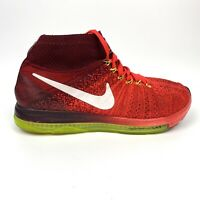 Nike Zoom All Out Flyknit Womens Running Bright Crimson Size 8  845361-616