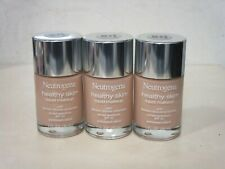 NEUTROGENA HEALTHY SKIN LIQUID MAKEUP SPF 20 NATURAL IVORY 20 1 OZ (3 PIECE LOT)