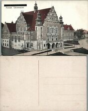 ANTIQUE POLISH POSTCARD UNIVERSITY POZNAN POLAND