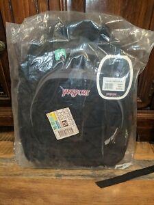 New Jansport Superbreak Backpack Black 100% Authentic School backpack book bag