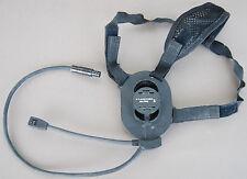 ORIGINAL BOWMAN MILITARY HEADSET WITH HEADBAND PRR H4855 PRC343 ROLE RADIO SELEX