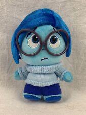 Inside Out Disney Pixar Plush Blue Sadness 8 Inch Stuffed Animal Toy