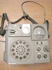 RADIO TIPO MILITARE Colsonic 3 bande FM SW AM con timer vintage funzionante