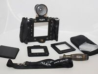 Alpa 12 SWA (Shift Wide Angle) Camera with Finder and Accessories.