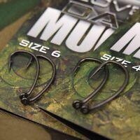 New Gardner Tackle Covert Dark Mugga Hooks - All Sizes Micro Barb - Carp Fishing