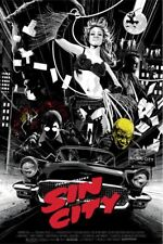 Sin City Alternative Movie Poster Art by Mondo Artist Kako #/35
