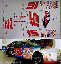 NASCAR DECAL #15 DAYTONA USA 1997 FORD THUNDERBIRD -  GREG SACKS - RACESCALE