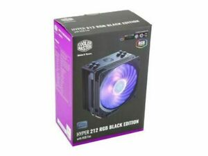 Cooler Master Hyper 212 RGB Black Edition CPU Fan with Heatsink - RR212S20PCR1