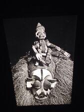 Yaka Zaire Initiation Ceremony Mask: African Tribal Art Vintage 35mm Slide