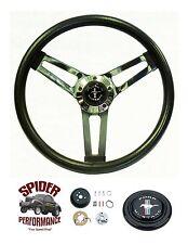 "1970-1973 Mustang steering wheel PONY 14 1/2"" SHALLOW DEPTH steering wheel"
