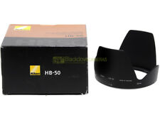 Nikon paraluce HB-50 x obiettivo Nikkor AF-S 28/300mm. f3,5-5,6 VR. Originale.