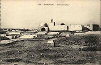 Kairouan Qairawān Tunesien Tūnisiyya AK ~1910 Cimetière arabe Friedhof Gräber