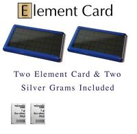 Element Card Gold Bullion Case for Valcambi Combibars Silver Platinum Airtite
