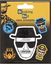 Breaking Bad 5er Pack Vinyl Aufkleber ( PY)