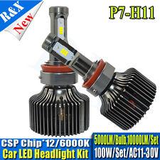 100W H8 H11 Truck LED Car Headlight Kit Replace Hid Xenon Kit Bulb Lamp 10000LM