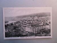 Ansichtskarte Waldshut Rhein Ostansicht 1922  Bahnhof Eisenbahn Bahnlinie Zug