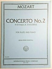 "Mozart - ""Concerto No.2 in D Major, K.314 (285d)"", For Flute & Piano, Ed. Rampal"