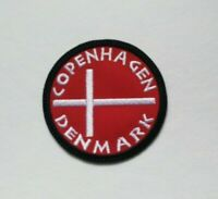 COPENHAGEN PATCH EMBROIDERED TRAVEL SOUVENIR IRON ON TO SEW ON PATCH AP 120