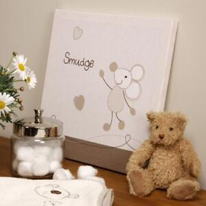 Baby Smudge Wall Canvas Nursery Decoration Accessories Gifts by Bed E Byes