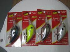 arkie 350 series crankbait set of 4