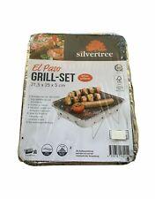 Silvertree Grill Einweggrill Einmalgrill aus Aluminium NEU Grill Grillen