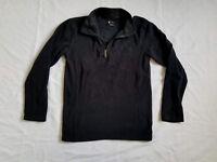 Spyder Kids Size L Large Unisex Fleece Jacket Black Long Sleeves (B4)