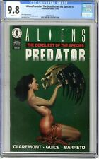 Aliens/Predator: The Deadliest of the Species  #3  CGC  9.6  NMMT   White pages