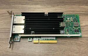 Intel X540-T2 Dual Port 10GbE 10GB PCIe Network Adapter Card X540T2