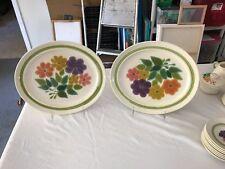 Franciscan Floral Pattern Serving Platter