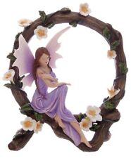 Elfenfigur Wunschfee schläft Blumenzweig Feen Elfen Fantasy Elfe Fee Dekofigur