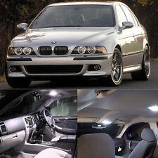 Error Free White 20 LED Interior Light Kit For BMW 5 Series E39 525i 530i M #E